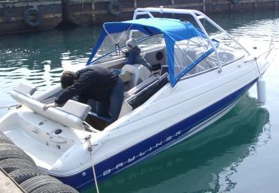 Bayliner Capri рубка