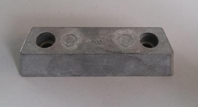 Анод цинковый Volvo Penta на транцевый узел трапециевидный