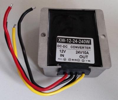 Преобразователь напряжения бортовой сети 12В > 24В 10А (240Вт)