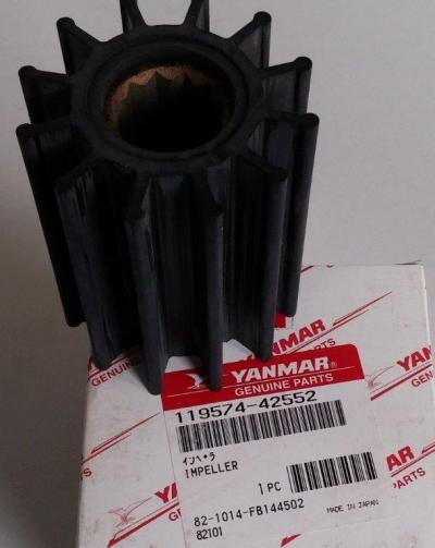 Крыльчатка охлаждения Yanmar 6LY 119574-42552 оригинал