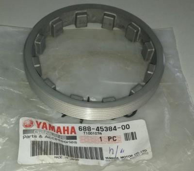 Гайка корончатая нижнего редуктора Yamaha 688-45384-00