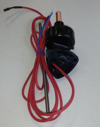 Верхняя гайка гидроциллиндра c сенсором положения транцевых плит