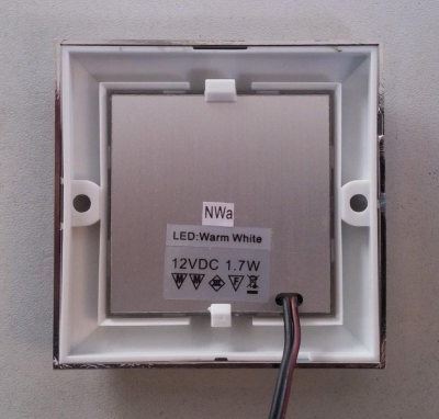 Светильник каютный, 24 LED Samsung, 62 мм