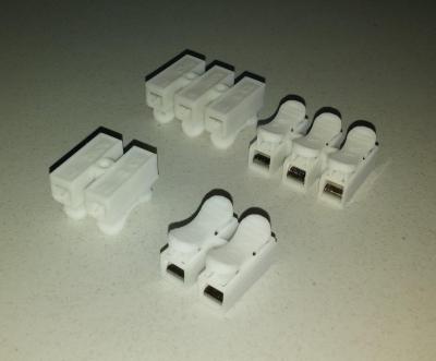 Клеммник быстрозажимной светодиодных ламп 2pin / 3pin