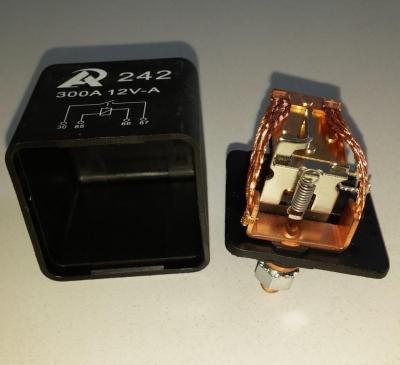 Реле (соленоид) 12В 300А RL242 12V 300A