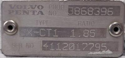 Volvo Penta SX-СT1 1.85