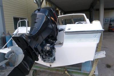 Yamaha SR17 с 4х тактным мотором