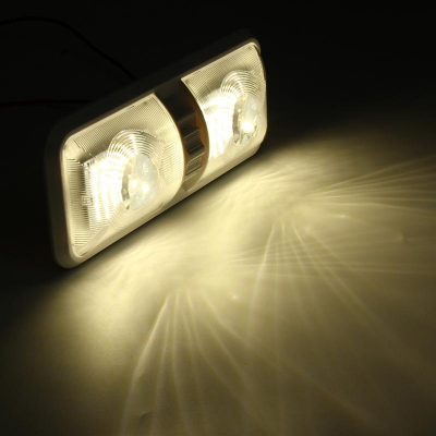 Светильник каютный 48LED, две лампы, 12 В