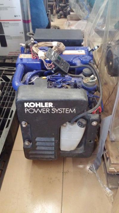 Kohler 7_3E бензиновый генератор 7.3 кВт