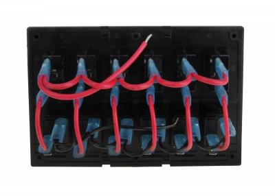 Панель бортового питания 6 переключателей с автоматами