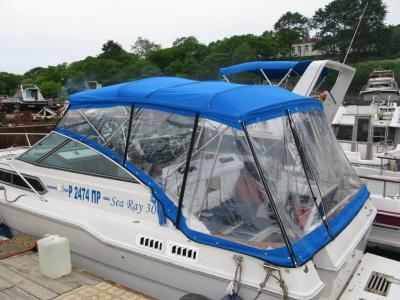 Sea Ray 300 палатка