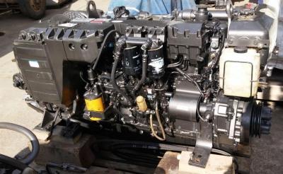 Komatsu 6M105A-2 с редуктором 1:2.0 на катер