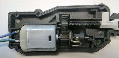 Электропривод глушилки дизельного двигателя 12V