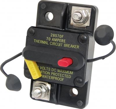 Автомат защиты сети DC48V флажковый накладной