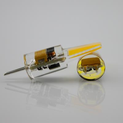 Интерьерная led COB лампочка тёплый белый G4 2W 12v