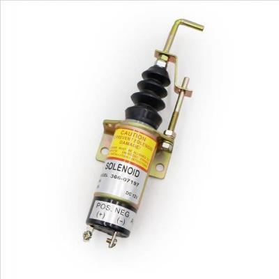 Электропривод глушилки дизельного двигателя 12V 366-07197
