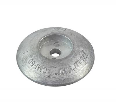 Анод цинковый Martyr, для транцевых плит, 50мм.