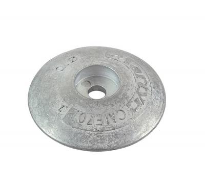 Анод цинковый Martyr, для транцевых плит, 70мм.