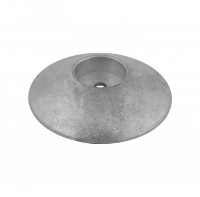 Анод цинковый Polipodio, для транцевых плит, 125мм.