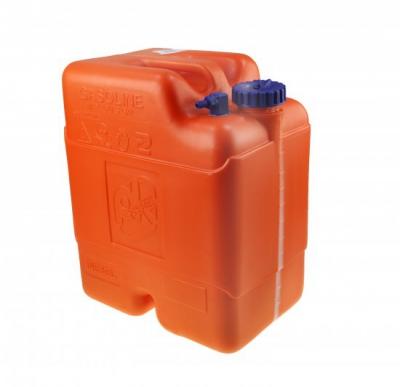 """Бак топливный вертикальный переносной без указателя уровня в комплекте с переходником """"елочка"""", 22 л"""