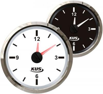 Часы кварцевые, аналоговый циферблат, д. 52 мм