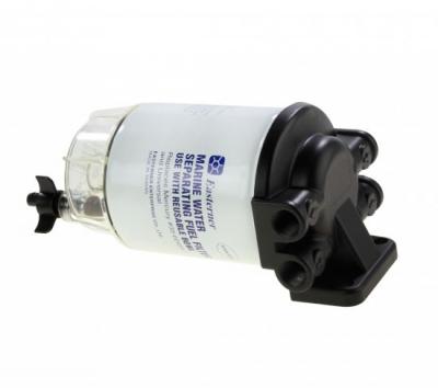 Фильтр топливный 10 мк с креплением и водосборником