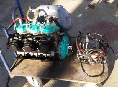 Двигатель с мозгами водника Kawasaki STX900