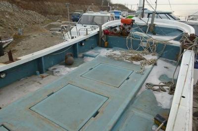 Рыболовная шхуна Komatsu