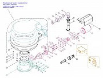 Комплект для переделки ручного унитаза в электрический, 12В
