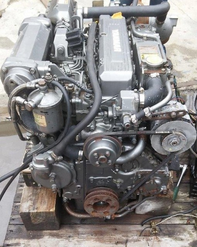 Лодочный дизель Yanmar 4LH-DTZ