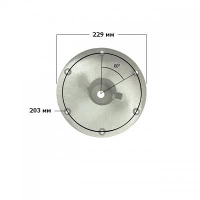 Основание D229 мм врезное для стоек Taper-Lock