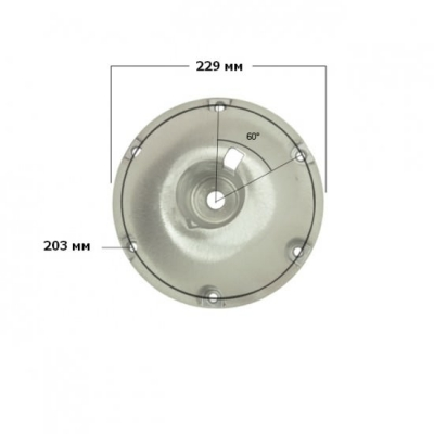 Основание 229 мм накладное для стоек Taper-Lock