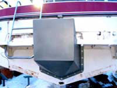 Переделка катера под подвесник