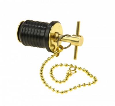 Пробка сливная (Т-образная) с цепочкой