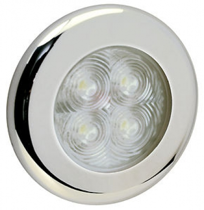 Светильник каютный 4LED, D75 мм