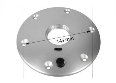 Стойка столешницы 675 мм анодированный алюминий