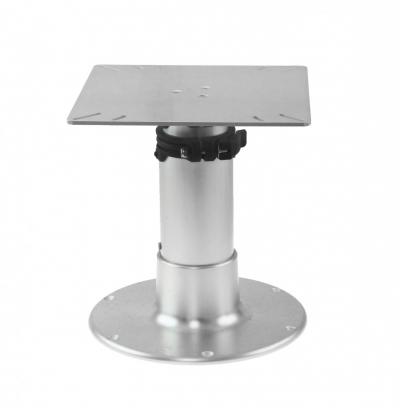 Стойка столешницы регулируемая 3 ступени, основание 300 мм