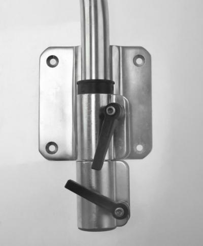 Стойка столешницы сдвижная с креплением к стенке
