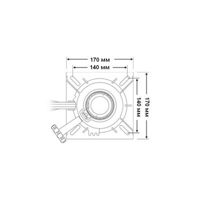 Стойка Taper-Lock 330 мм с креплением под сидение