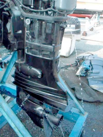 Четырёхтактник Suzuki 115