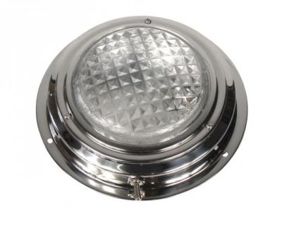 Светильник каютный, нержавейка, 12 В, 18 Вт, D172 мм