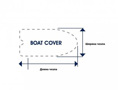 Тент транспортировочный для лодок 3.9-5.3 м