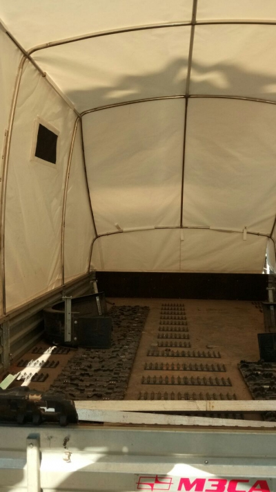 Тент-палатка на прицеп для квадроцикла