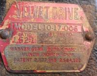 Редуктор Velvet Drive (Mercruiser) 10-17-006 1,52:1