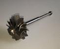 Крыльчатка газовая турбокомпрессора (турбины) AD41 с осью