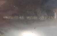 Mercruiser Alpha, Bravo I (Mercury 135-250) 3 x 13 3/4 x 23 правый нерж оригинал
