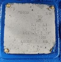Isuzu UM6WG1UTCG дизельный с редуктором 2.96:1