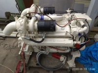 Detroit Diesel 8V92T дизельный стационар