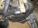 Транцевый узел Yamaha с гидроциллиндрами