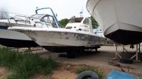 Nissan VX27HT корпус катера для рыбалки